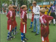 Детский тренер нашего города.