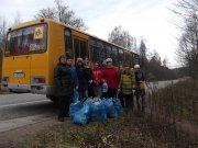Юные туристы ДЮСТЦ  на краеведческой тропе
